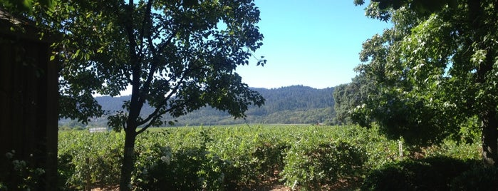 Cakebread Cellars is one of Roadtrippin.