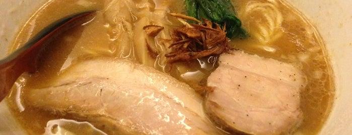 麺処 hachi is one of 東京オキニラーメン.