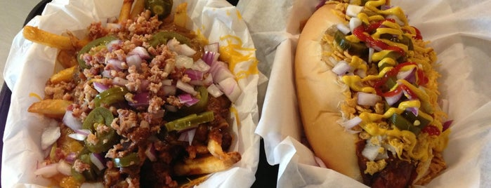 Jerry's Wood Fired Dogs is one of Restaurant.
