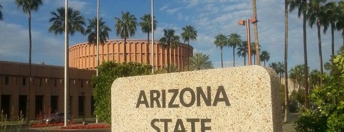 Arizona State University is one of Phoenix.