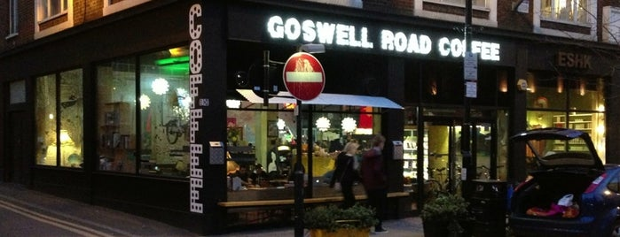 Goswell Road Coffee is one of Must-visit Coffee Shops in London.