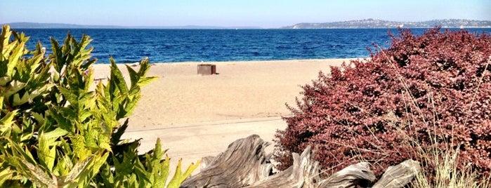 Alki Beach Park is one of Lost in Seattle.