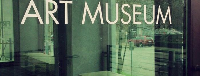 Frye Art Museum is one of Seattle spots.