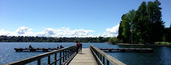 Green Lake Park is one of Northwest Washington.