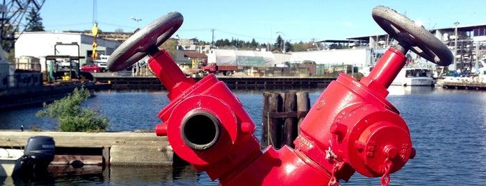Hiram M. Chittenden Locks is one of Lost in Seattle.