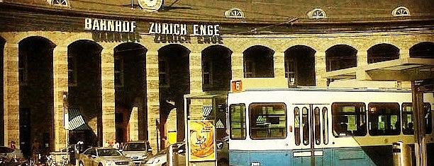 Bahnhof Zürich Enge is one of Switzerland.