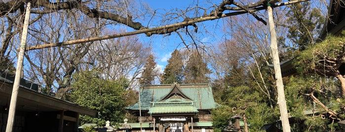 二本松神社 is one of 中世・近世の史跡.