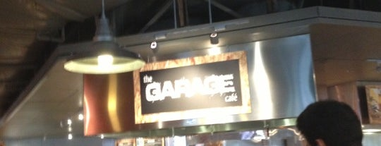 The Garage Cafe is one of Amazon Campus (SLU) Lunch Spots.