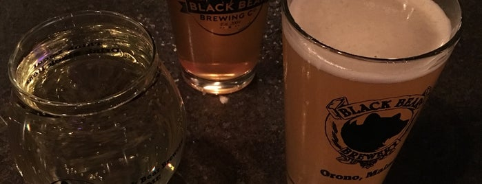 Black Bear Microbrew is one of New England Breweries.
