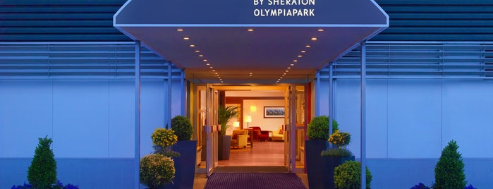 Four Points by Sheraton Munich Olympiapark is one of Starwood Hotels in Germany, Austria & Switzerland.