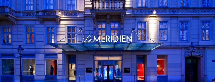 Le Méridien Vienna is one of Vienna/Frequency Fest.