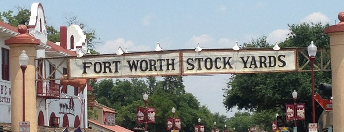 Fort Worth Stockyards National Historic District is one of Metroplex.