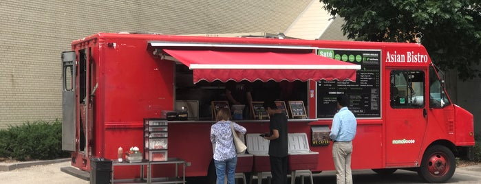 Asian Bistro Food Truck Kendall Square is one of food around mit.