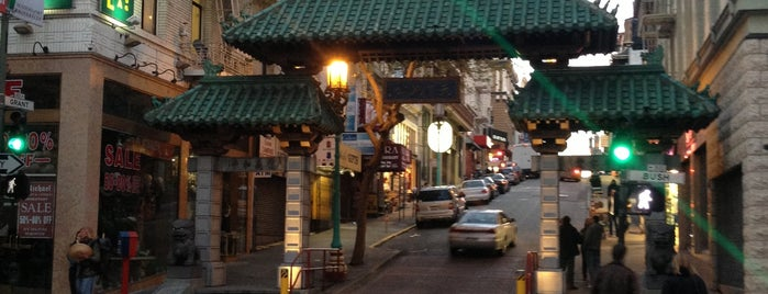 Chinatown Gate is one of USA Trip 2013 - The West.
