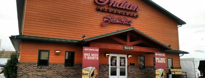 Indian Motorcycle Sturgis is one of Rapid City, SD.