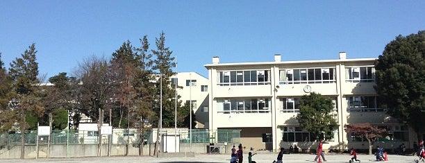 Yagi-kita Elementary School is one of 地元で行く場所(流山市).