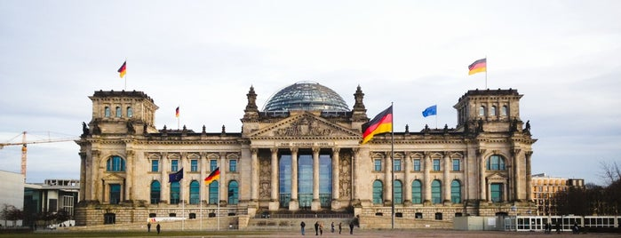 Reichstag is one of Berlin.