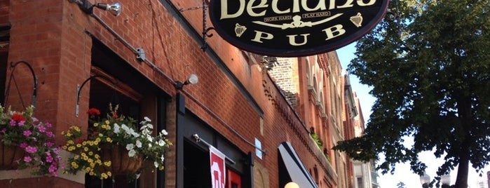Declan's Irish Pub is one of Chicago.