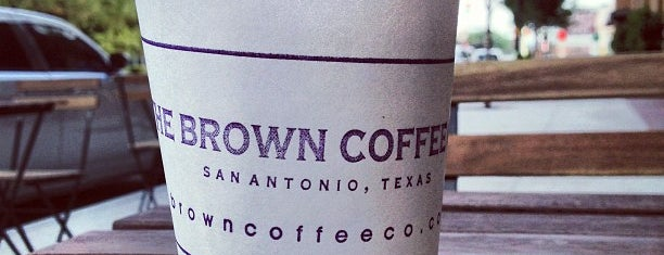 Brown Coffee Company is one of The 9 Best Places for Espresso in San Antonio.