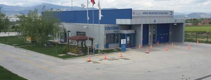 TÜVTÜRK Araç Muayene İstasyonu is one of kas.