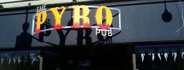 The Pyro pub is one of Niagara.