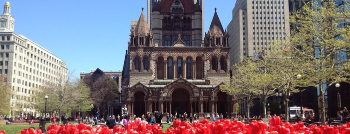 Copley Square is one of Boston.
