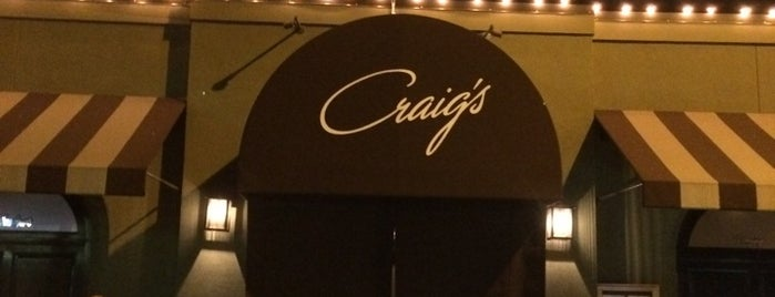 Craig's is one of Travelzoo's Guide to Los Angeles.