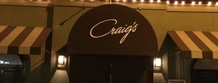 Craig's is one of LA.