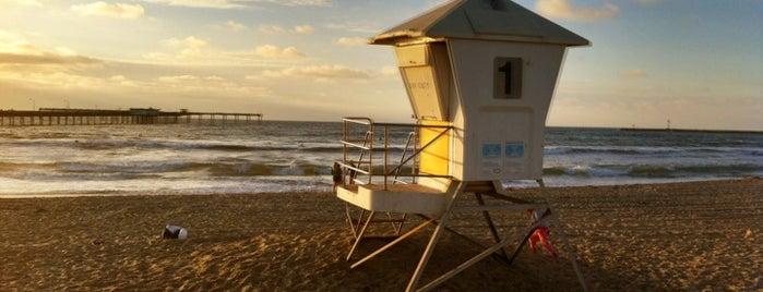 Ocean Beach is one of The Crowe Footsteps.