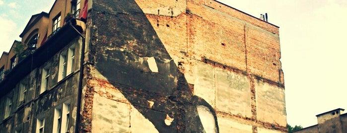 Pikaso - mural. For god's sake, cenzorship is everywhere is one of Street Art w Krakowie: Graffiti, Murale, KResKi.