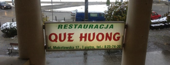 Que Huong is one of Top 10 dinner spots in Warszawa, Polska.