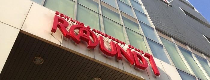 ラウンドワン 東淀川店 is one of 関西のゲームセンター.