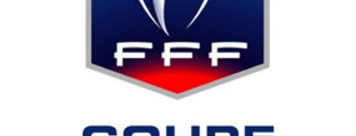 Stade de France is one of 09:00 AM on May 29, 2013  |  Orange France Badge.