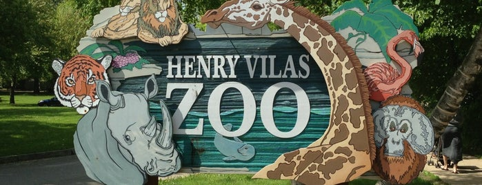 Henry Vilas Zoo is one of Madison is Awesome #visitUS.