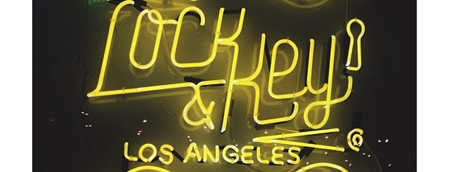 Lock & Key is one of Los Angeles.