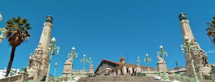 Escaliers de la Gare Saint-Charles is one of Marseille.