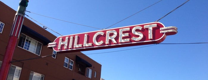 Hillcrest Sign is one of San Diego.