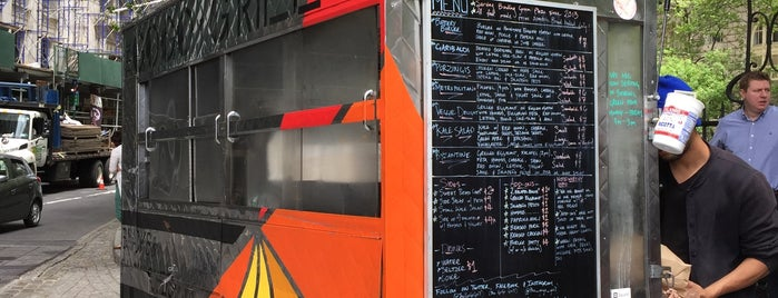 GoGo Grill is one of The 15 Best Food Trucks in New York City.