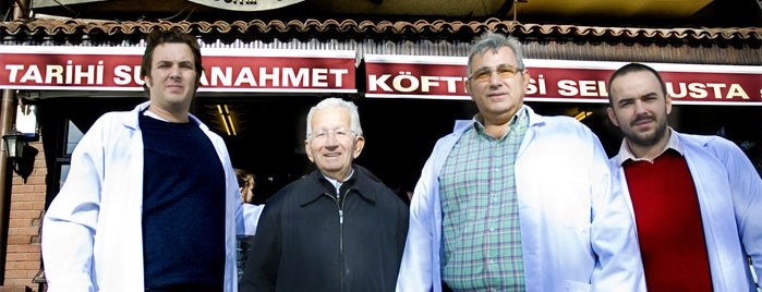 Tarihi Sultanahmet Köftecisi is one of İstanbul'da En İyi 50 Restoran.
