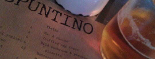 Spuntino is one of Guardian & Observer Restaurant Reviews.