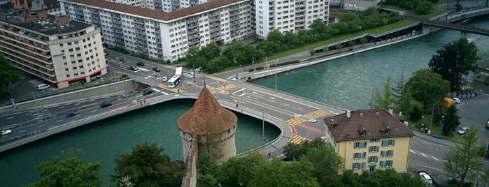 Männliturm is one of Discover Lucerne.