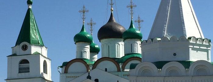 Вознесенский Печерский мужской монастырь is one of Что посмотреть в Нижнем Новгороде.