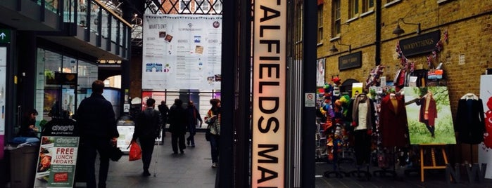 Old Spitalfields Market is one of Hipster London.