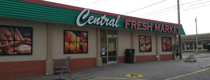 Central Fresh Market is one of Kitchener.