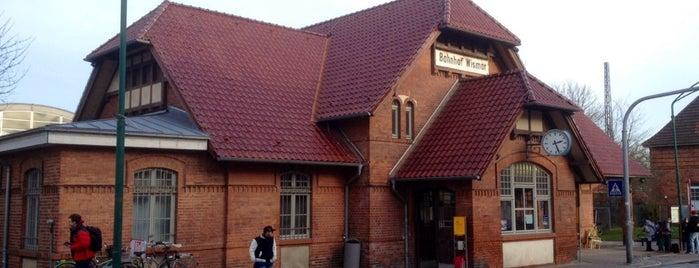 Bahnhof Wismar is one of Bahnhöfe Deutschland.