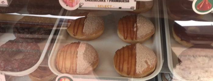 Krispy Kreme is one of Coffee, Snacks.
