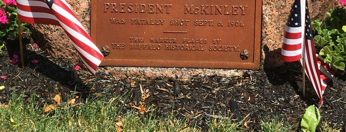 The Spot Where President McKinley Was Shot is one of Best of Buffalo.