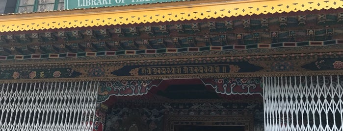 Library of Tibetan Works & Archives is one of life of learning.