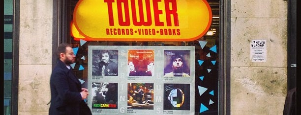 Tower Records is one of Abroad to do.