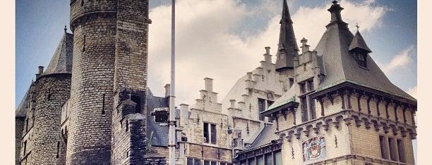 Het Steen is one of Antwerpen #4sqCities.